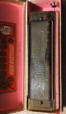 KOCH 980/40 CHROMATIC HARMONICA-KEY OF C WITH ORIGINAL BOX-VINTAGE/GERMANY-NICE!