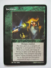 Inceptor VTES Promo card Vampire the Eternal Struggle ccg tcg trading V tes wars