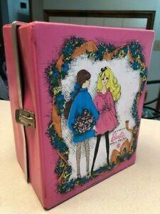 Vintage Barbie Clothes Lot, and Case