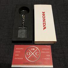 Honda Asimo Keychain Rare JDM Honda Collection Vintage Access Crystal NSX CRX
