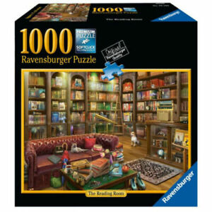 Reading Room 1000 Piece Jigsaw Puzzle by Ravensburger - NEW - SEALED BOX