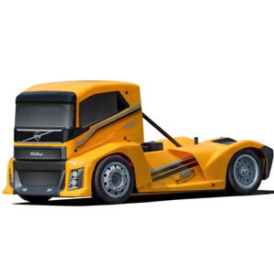 HoBao HB-GPX4E-Y Hyper EPX 1/10 Semi Truck On-Road ARR w/ Yellow Paint Body