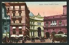 Napoli : Piazza Trieste e Trento - cartolina non viaggiata, circa anni '30