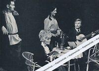 Esslingen - Theater - Heinz Fricke , Friedel Heinzmann -  Schauspieler - um 1965
