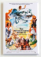 The Neverending Story 2 FRIDGE MAGNET (2 x 3 inches) movie poster next chapter