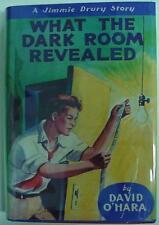 JIMMIE DRURY no.3 WHAT THE DARK ROOM REVEALED hc repro dj David O'Hara HTF