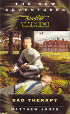 Dr Doctor Who Virgin Missing Adventures Book - Bad Therapy - (Mint New)
