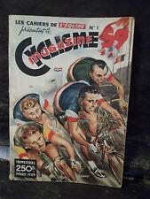 LES CAHIERS DE L'ÉQUIPE PRÉSENTENT LE CYCLISME MAGAZINE 59.  N° 1.  Mars 1959.