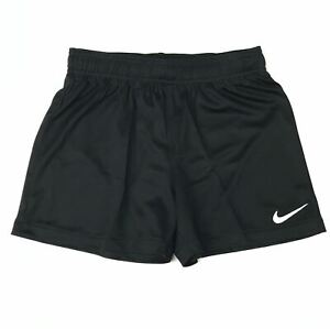 New Nike Training Soccer Futbol Short Youth Girl's Medium Dri-Fit Black 836232