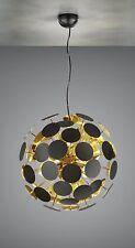 Pendelleuchte / LED möglich / TOP Design / Gold / schwarz / 6 x E14 LED möglich