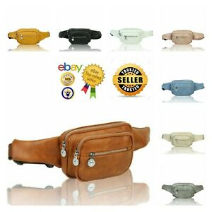 New Women's Classic Design Multi Pocket Bum Bag Waist Bag Fanny Pack Travel Pack