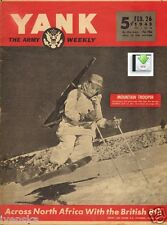 CD File 2 Issues YANK 1943 - Mountain Troopers, Camp Hale, 10th Light Division
