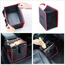 1x Practical Car Wastebasket Trash Bag Can Litter Garbage Leak Proof Bin Holder