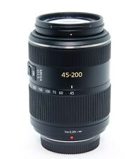 Panasonic Lumix G Vario 45-200mm f/4.0-5.6 version I Negro (H-FS045200)
