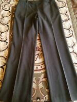 Ann Taylor Olive Brown Lined Wool Dress/Career Pants Women's Size 6 MSRP $98 EUC