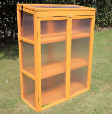 Gardens Imperial® Gatcombe 3-tier Wooden Mini Greenhouse with Polycarbonate Pa