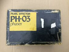 Pearl Effector PH03 Phaser Guitar Pedal Japan Boxed