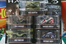 Hot Wheels RETRO Entertainment HALO 1/64 Scale 5 Completely Set New