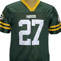 Green Bay Packers Eddie Lacy No 27 NFL Green Football Jersey Youth Large 14-16