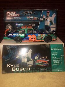 2008 KYLE BUSCH  ACTION #20 DOOSAN RACE WIN TOYOTA 1 OF 1,423 MADE