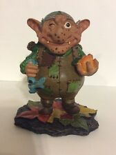 "Vintage Summit Collection Ceramic 3.75"" Hoggle, Troll, Goblin, Labyrinth, Rare"