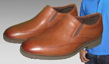 ROCKPORT Men's OC Oak Circle Slip On Loafer with adidas adiprene UK 6.5 (USA 7)