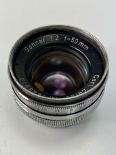 Contax RF Carl Zeiss Jena 5cm f2 Sonnar Early Model Great Condition