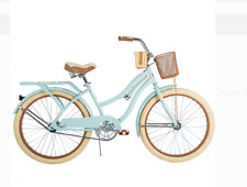 """Best seller Huffy 24"""" Nel Lusso Girls' Cruiser Bike, Mint Green Free Shipping"""