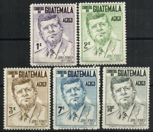 Guatemala Stamp - President Kennedy memorial issue Stamp - NH