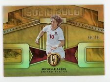 2019-20 Michelle Akers 68/79 Panini Gold Standard Solid Gold