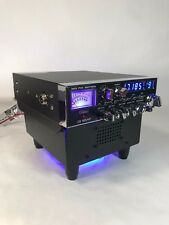 Blue Led Fan Kit Base Stand w/ Built In Ext Speaker Galaxy Ranger Cb Ham Radios