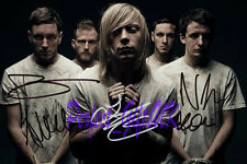 ARCHITECTS BAND SIGNED AUTOGRAPHED 10X8 INCH REPRO PHOTO PRINT