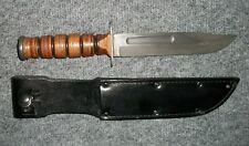 WW2-Vietnam Camillus Combat Knife with Original Sheath - Mint ++ Condition