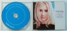 CHRISTINA AQUILERA - WHATA GIRL WANTS -  MAXI CD (O35)