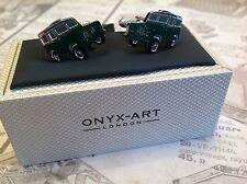 Land Rover Cufflinks by Onyx Art, Brand New in Gift Box Wedding Birthday