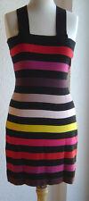 Sonia Rykiel pour H&M dress  Kleid buntes Strickkleid Pima Baumwolle EUR Gr. M