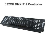 DMX512 Controller Console For Stage Light Party DJ Laser Operator 192 Channels