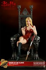 SIDESHOW EXCLUSIVE BUFFY THE VAMPIRE SLAYER Throne of Slayer MAQUETTE STATUE