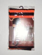 Opaque Stripe Thigh High Stocking Orange Black LEG AVENUE OSFM Costume Halloween