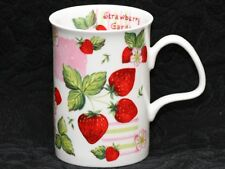 ROY KIRKHAM STRAWBERRY GARDEN Fine Bone China LANCASTER Mug #2a