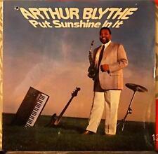 ARTHUR BLYTHE // Put Sunshine in It / ORIGINAL 1985 USA LP/ SEALED!