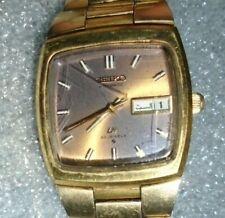 vintage men's Seiko LM 23 jewel mechanical automatic calendar wristwatch