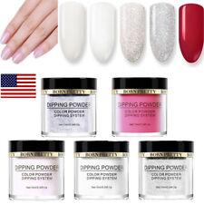 5Bottles/Set 10ml BORN PRETTY Dip Dipping Powder Dust Glitter Nail Art  Kits