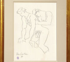 Jean Cocteau Drawing Nude Male Youth Gay French Erotic portrait sailors