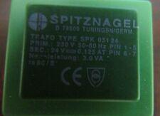 SPITZNAGEL TRAFO Type SPK 031 24 D 78909 TUNING5N Mini Transformer PRIM 230V 24V