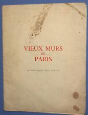 Vintage Lot 8 Landscape cityscape prints views from Paris by Irene Zurkinden