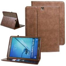 """Cover für Samsung Galaxy Tab S2 9,7"""" Leder Schutz Hülle Tasche Smart Case bronze"""