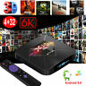 2019 Android 9.0 6K 4G+32G Quad Core Smart TV Box WIFI TV caja PC 3D Media MINI