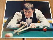 Gary Wilkinson Snooker 10x8 Original Press Photo. Authentic Press Image. Rare