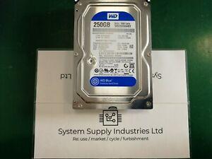 """4 x Western Digital WD2500AAKX 250GB 7.2k 3.5"""" SATA HDD Hard Disk Drive 6 GBP/s"""